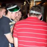 Pubgolf var populärt. Hole in one om du tömmer pinten i ett drag… Mycket obehagligt! Liksom all annan sport!!